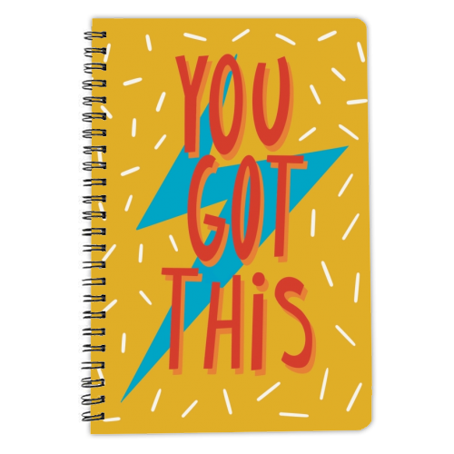 You Got This - designed notebook by Stonefoxes