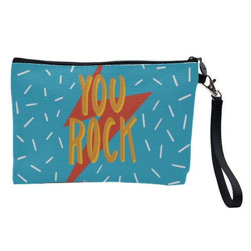 You Rock - pretty makeup bag by Stonefoxes