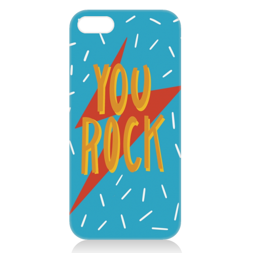 You Rock - unique phone case by Stonefoxes