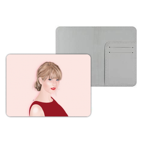 Taylor Swift - designer passport cover by Little Cat Creates