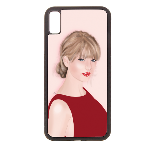 Taylor Swift - Rubber phone case by Little Cat Creates