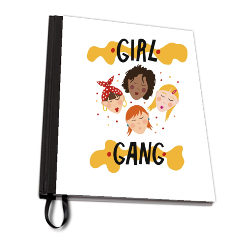 Girl gang - designed notebook by Stonefoxes