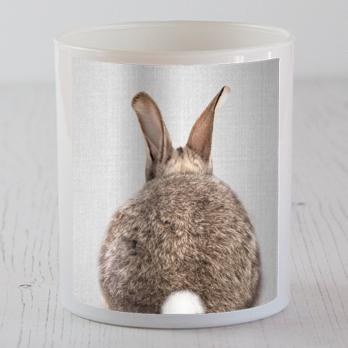 Rabbit Tail - Colorful - Candle by Gal Design