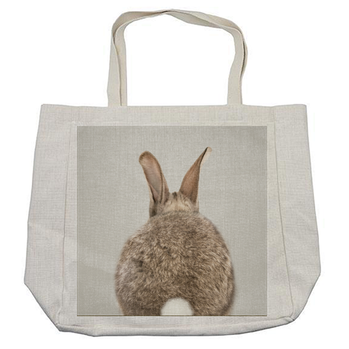 Rabbit Tail - Colorful - cool beach bag by Gal Design