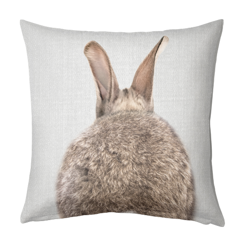 Rabbit Tail - Colorful - designed cushion by Gal Design