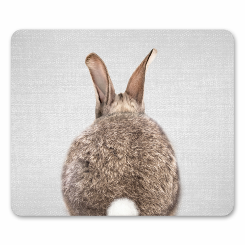 Rabbit Tail - Colorful - personalised mouse mat by Gal Design