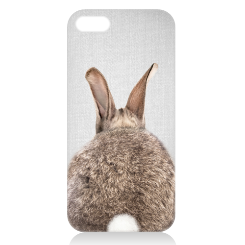 Rabbit Tail - Colorful - unique phone case by Gal Design