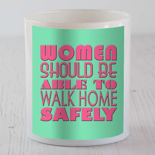 Women - Candle by Kitty & Rex Designs