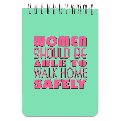 Women - designed notebook by Kitty & Rex Designs