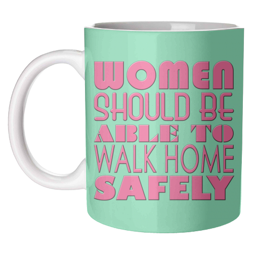 Women - unique mug by Kitty & Rex Designs