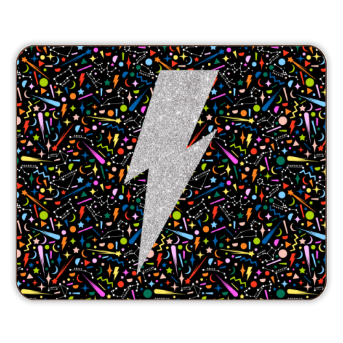 LIGHTNING BOLT - photo placemat by PEARL & CLOVER