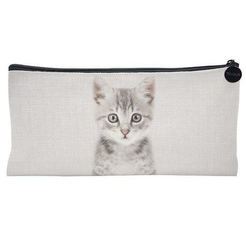 Kitten - Colorful - unique pencil case by Gal Design