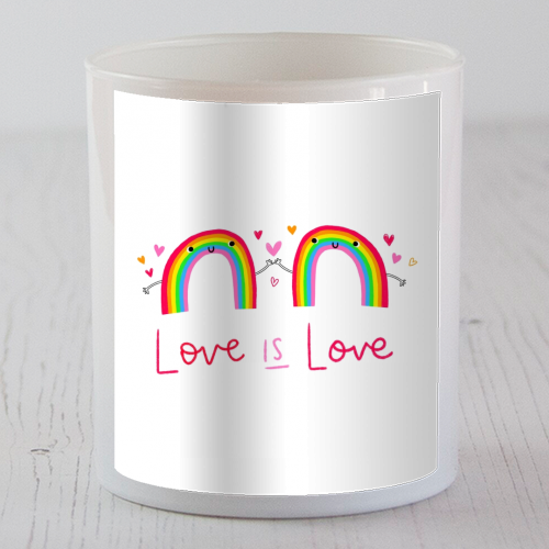 Love is Love - Candle by Jessica Moorhouse