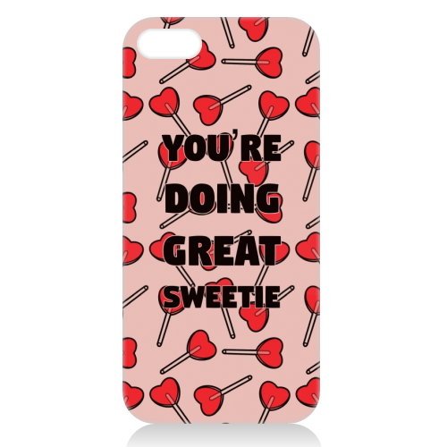 Sweetie print - unique phone case by Kimberley Ambrose