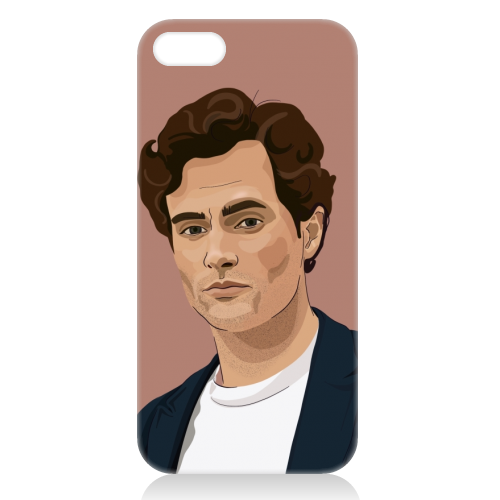 Penn Badgley print - unique phone case by Kimberley Ambrose