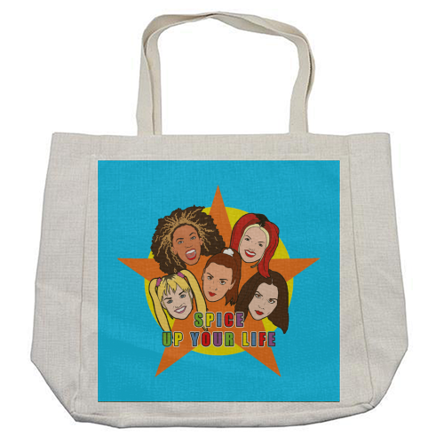 Spice Up Your Life - cool beach bag by Bite Your Granny