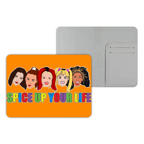 Spice Up Your Life - designer passport cover by Bite Your Granny