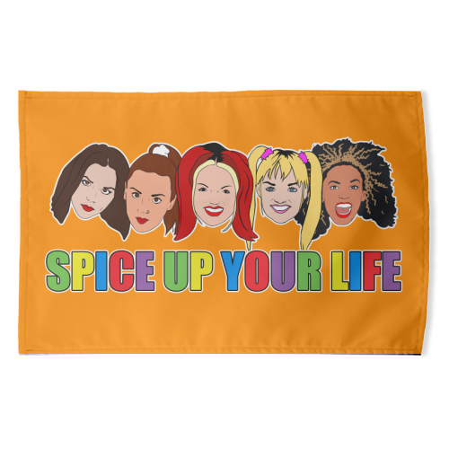 Spice Up Your Life - funny tea towel by Bite Your Granny