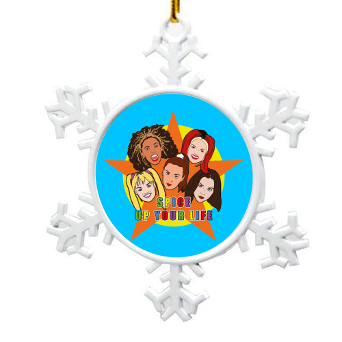 Spice Up Your Life - snowflake decoration by Bite Your Granny