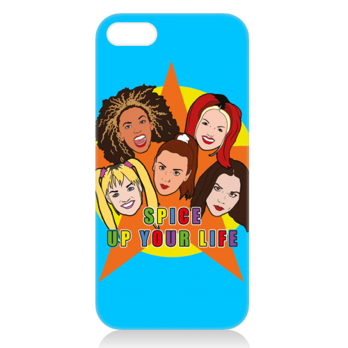 Spice Up Your Life - unique phone case by Bite Your Granny