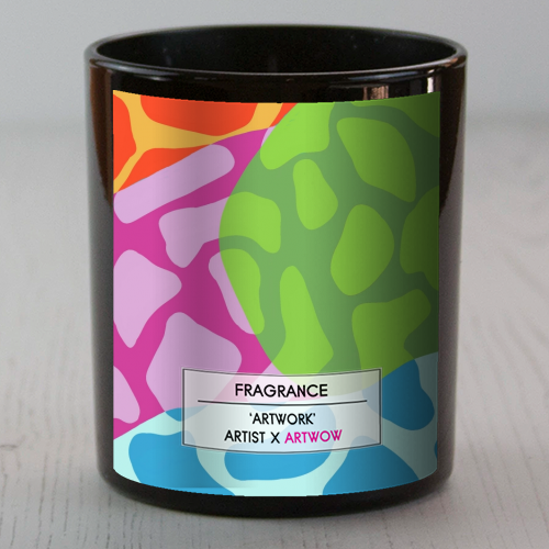 A Leopard's True Spots - Candle by Squiggle&Splodge