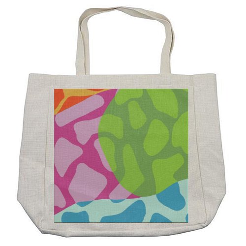 A Leopard's True Spots - cool beach bag by Squiggle&Splodge
