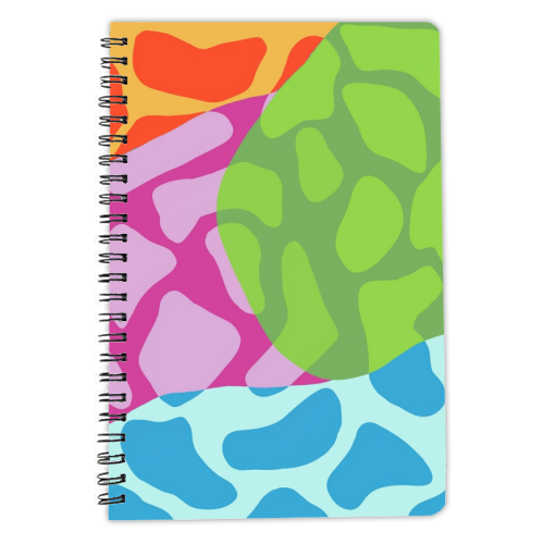 A Leopard's True Spots - designed notebook by Squiggle&Splodge