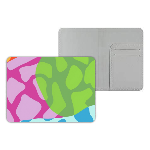 A Leopard's True Spots - designer passport cover by Squiggle&Splodge