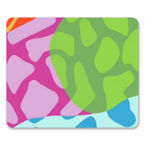 A Leopard's True Spots - personalised mouse mat by Squiggle&Splodge