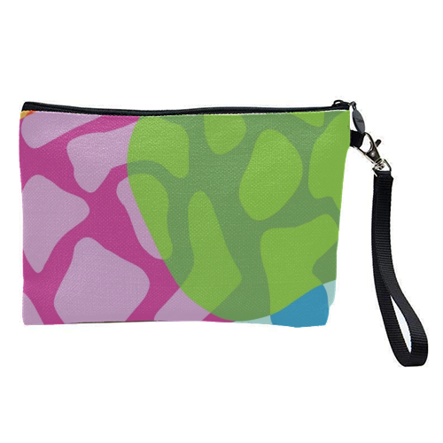 A Leopard's True Spots - pretty makeup bag by Squiggle&Splodge