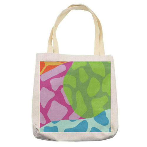 A Leopard's True Spots - printed tote bag by Squiggle&Splodge