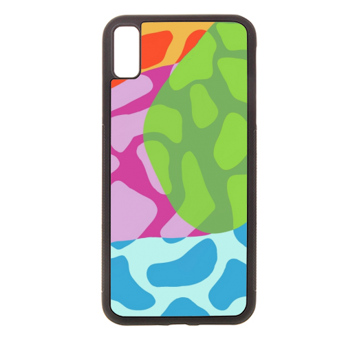 A Leopard's True Spots - Rubber phone case by Squiggle&Splodge