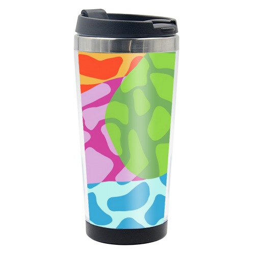 A Leopard's True Spots - travel water bottle by Squiggle&Splodge