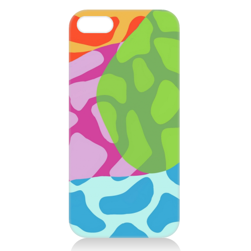 A Leopard's True Spots - unique phone case by Squiggle&Splodge