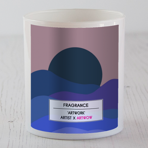 Desert Sunset - Candle by Squiggle&Splodge