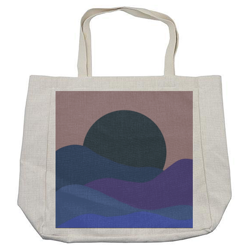 Desert Sunset - cool beach bag by Squiggle&Splodge