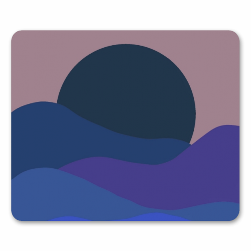 Desert Sunset - personalised mouse mat by Squiggle&Splodge