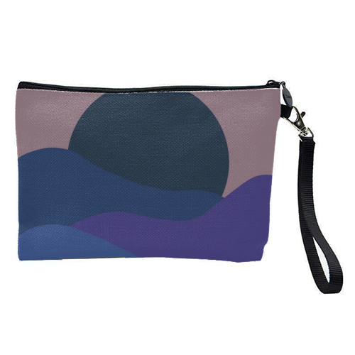 Desert Sunset - pretty makeup bag by Squiggle&Splodge