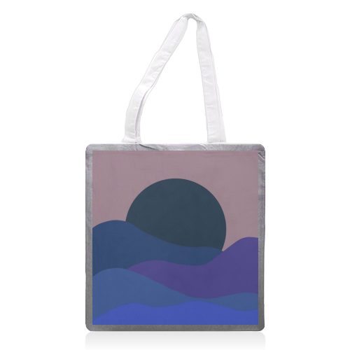 Desert Sunset - printed tote bag by Squiggle&Splodge