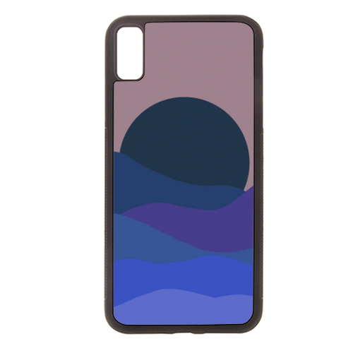 Desert Sunset - Rubber phone case by Squiggle&Splodge