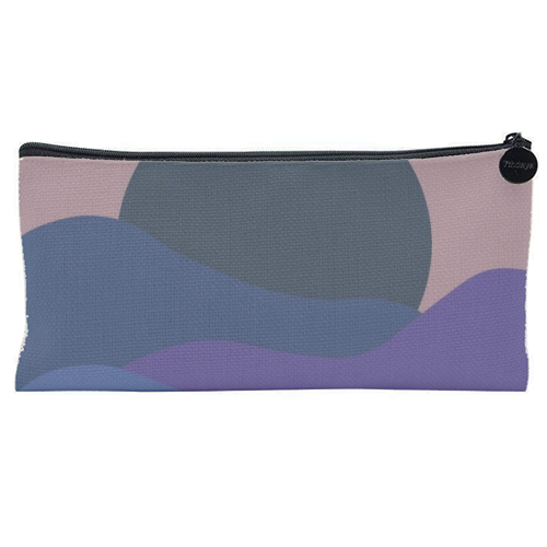 Desert Sunset - unique pencil case by Squiggle&Splodge