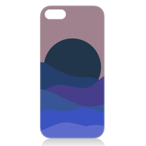 Desert Sunset - unique phone case by Squiggle&Splodge