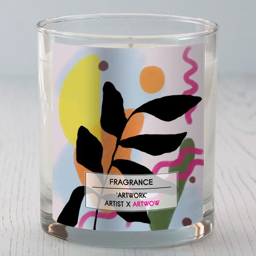 Nature vs Nurture - Candle by Squiggle&Splodge