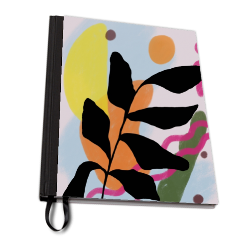 Nature vs Nurture - designed notebook by Squiggle&Splodge