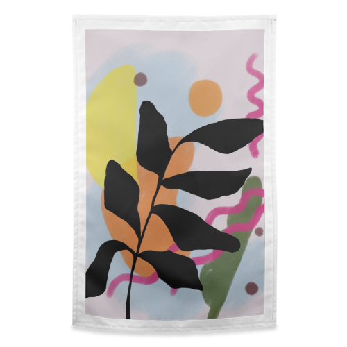 Nature vs Nurture - funny tea towel by Squiggle&Splodge