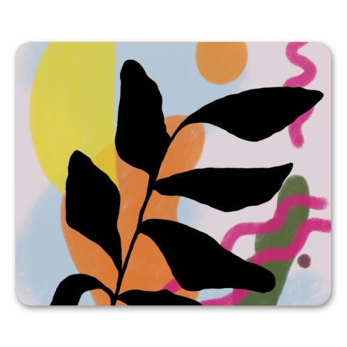 Nature vs Nurture - personalised mouse mat by Squiggle&Splodge