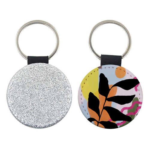 Nature vs Nurture - personalised picture keyring by Squiggle&Splodge