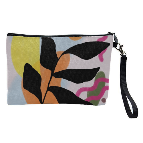 Nature vs Nurture - pretty makeup bag by Squiggle&Splodge