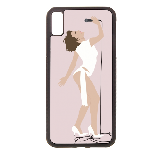 Kylie Minogue - Rubber phone case by Cheryl Boland