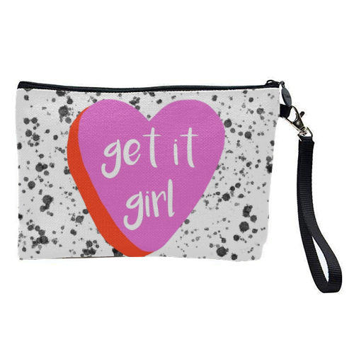 Get It Girl - pretty makeup bag by Eloise Davey